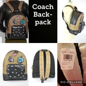 Coach Snow White Backpack